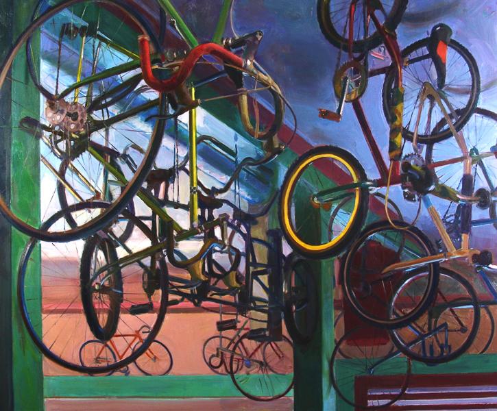 Bike Shop Ceiling