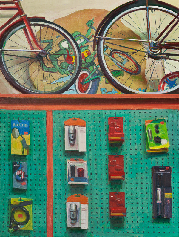 Bicycle Still Life