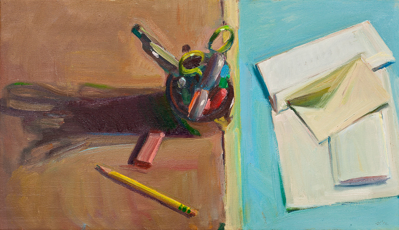 Still Life with Stationary